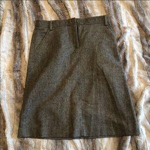Like New J. Crew wool pencil skirt